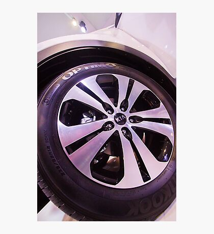 Kia Sportage Wheel  [ Print & iPad / iPod / iPhone Case ] Photographic Print