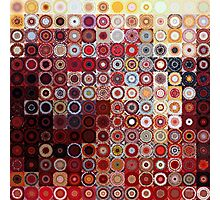 Circles and Squares 11. Modern Geometric Art Photographic Print