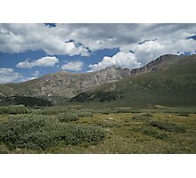 Guanella Pass Ridges Photographic Print