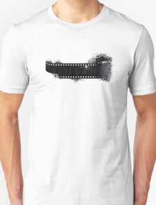 Black and White City Unisex T-Shirt