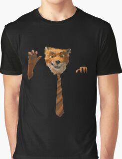 Mr Fox Tie Graphic T-Shirt