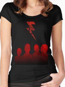 Battle Born (Grunge Ver.) Women's Fitted Scoop T-Shirt