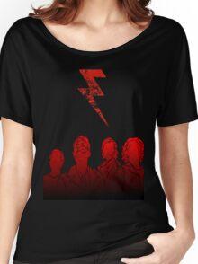 Battle Born (Grunge Ver.) Women's Relaxed Fit T-Shirt