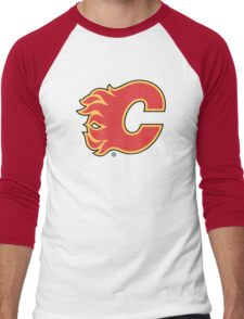 calgary flames Men's Baseball ¾ T-Shirt