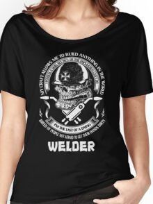 I am Proud to Be a Welder Women's Relaxed Fit T-Shirt
