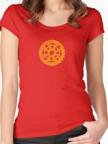 Seahorse Snowflake  Women's Fitted Scoop T-Shirt