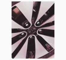 Kia Optima Wheel [ Print & iPad / iPod / iPhone Case ] T-Shirt