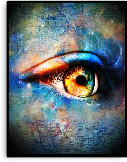 Through the Time Travelers Eye by Kerri Ann Crau