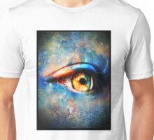 Through the Time Travelers Eye Unisex T-Shirt
