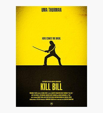 "Movie Poster - ""KILL BILL - Vol.1"" Photographic Print"