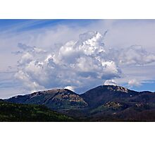 Clouds Over Steamboat Lake Photographic Print