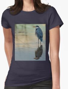 Heron The Master Fisherman Womens Fitted T-Shirt