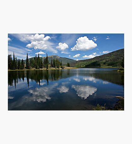 Pearl Lake Blue Water Photographic Print