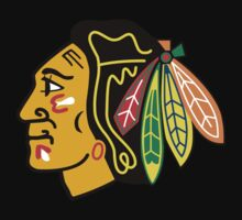chicago blackhawks by rindubenci69