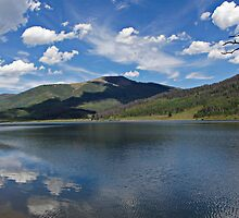 Pearl Lake Mountain View by Michael Kirsh