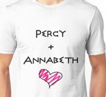 Percy+Annabeth Shirt (2nd edition) Unisex T-Shirt