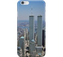 Twin Towers of the World Trade Center iPhone Case iPhone Case/Skin