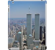 Twin Towers of the World Trade Center iPad Case iPad Case/Skin
