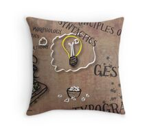 The Graphic Design Process Throw Pillow