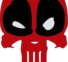 Punished Deadpool by shevil