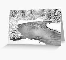 Nason Creek Greeting Card