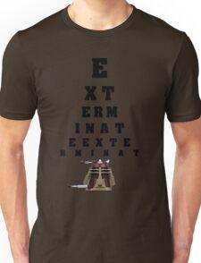 Dalek Calibration Unisex T-Shirt
