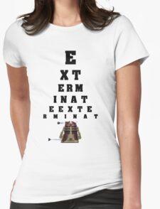 Dalek Calibration Womens Fitted T-Shirt