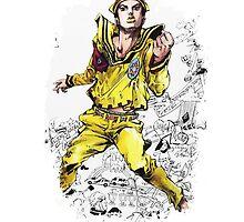 JoJo's Bizarre Adventure - Jousuke  by Onimihawk