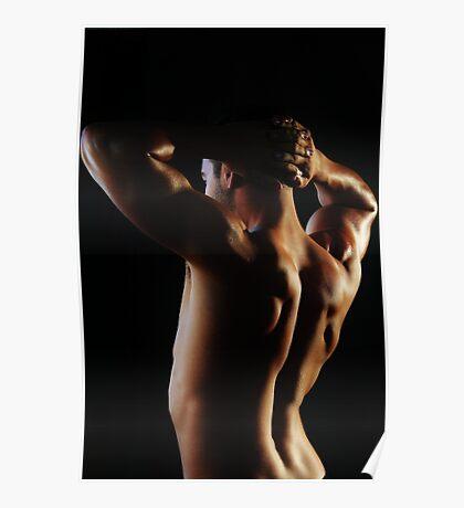 Model - Studio Lighting Poster