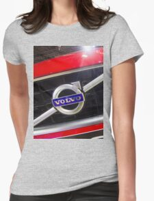 Volvo S60 T6 R-Design Logo [ Print & iPad / iPod / iPhone Case ] Womens Fitted T-Shirt