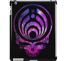 Bassnectar Galaxy skull logo iPad Case/Skin