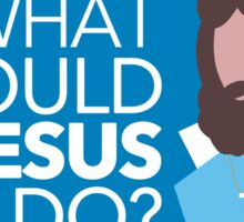 What Would Jesus Do? - [Tab Society] Sticker