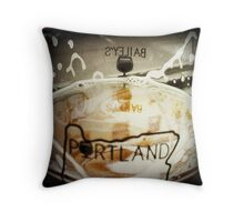 PDX Beer Throw Pillow