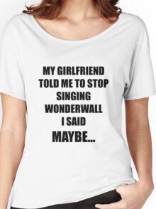 Wonderwall Oasis Women's Relaxed Fit T-Shirt