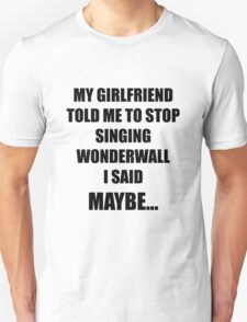 Wonderwall Oasis T-Shirt