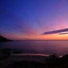 bridport sunrise. north eastern tasmanian coast, australia by tim buckley | bodhiimages photography