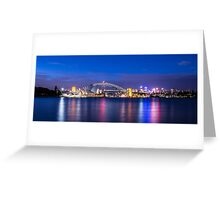 Sydney Harbour Panorama Greeting Card
