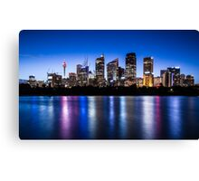 Sydney City Lights Canvas Print