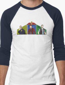 Pratt X4 Men's Baseball ¾ T-Shirt