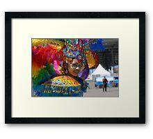 Rainbow Child Framed Print
