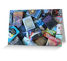 Young Adult Books Greeting Card