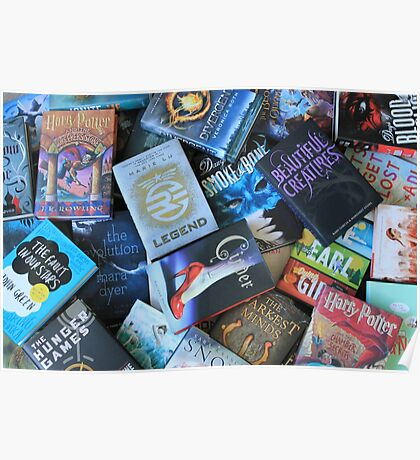 Young Adult Books Poster