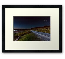 Sweeping Bend Framed Print