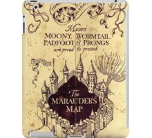Harry potter The Marauders Map iPad Case/Skin