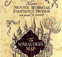 Harry potter The Marauders Map by Ringskulls