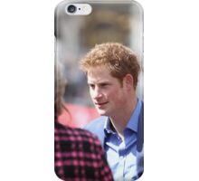 Prince Harry at The Virgin London Marathon iPhone Case/Skin