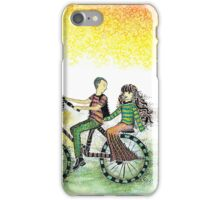 Cycling Couple iPhone Case/Skin
