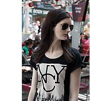 New York City Girl Photographic Print