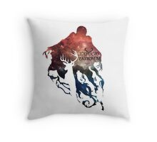 Harry potter Expecto patronum  Throw Pillow