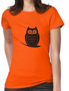Owl Womens Fitted T-Shirt